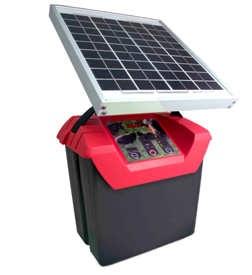 Solární zdroje ohradníků