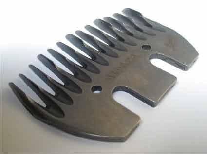 Spodní nože na stříhání lam