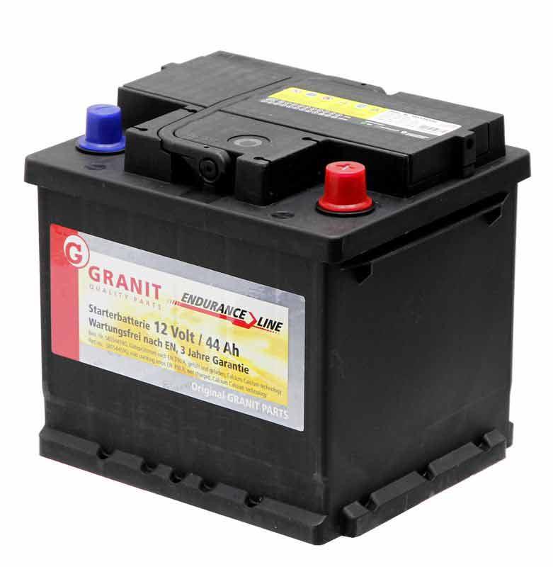 Startovací a trakční baterie
