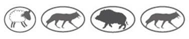 Kombinovaný elektrický ohradník Chapron HYBRIDE H42 pro všechna zvířata zejména pro koně, dobytek, vlk, ovce, vysoká zvěř.