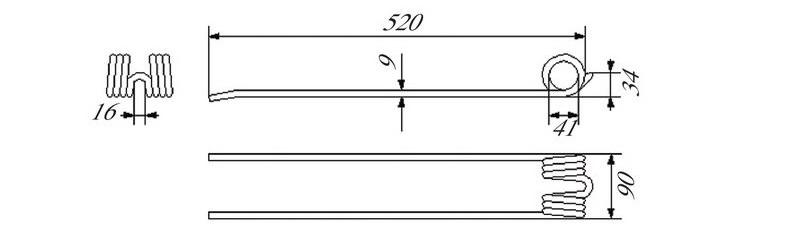 Schéma pera shrnovače