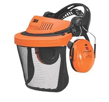 Ochranný obličejový štít a sluchátka ke křovinořezu PELTOR 3M