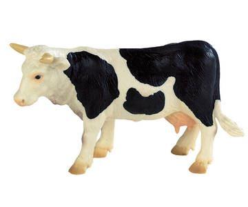 Bullyland - figurka kráva Fanny černo/bílá