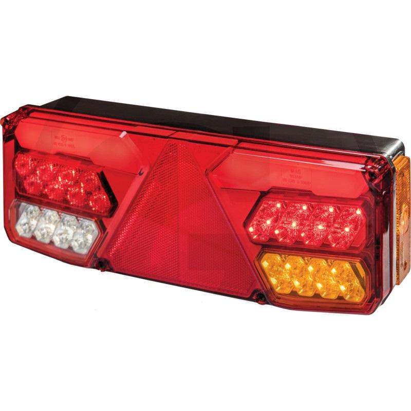 LED pravé světlo koncové, brzdové, směrové, zpátečkové, mlhovka, osvětlení SPZ, odrazka
