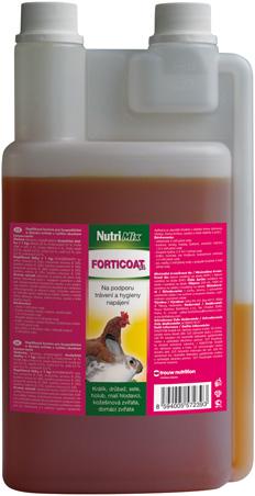 NutriMix Forticoat na podporu trávení a hygienu napájení pro hospodářská zvířatata