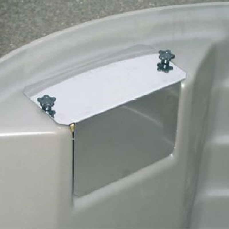 Plovákový ventil La GÉE bílý 32 l /min. 5 bar pro kulaté nádrže SUPERBAC včetně krytu
