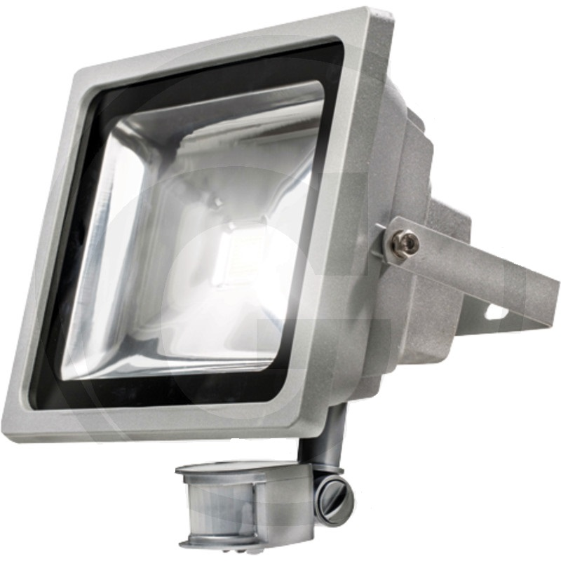 LED reflektor s čidlem pohybu 3500 Lumen = cca 250W s originálním chip SMD SAMSUNG LED