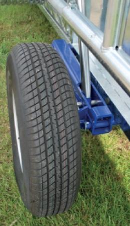 Kompletní kolo, rezerva pneu 195/70×14 (25 km/h) pro mobilní fixační klec PASDELOU