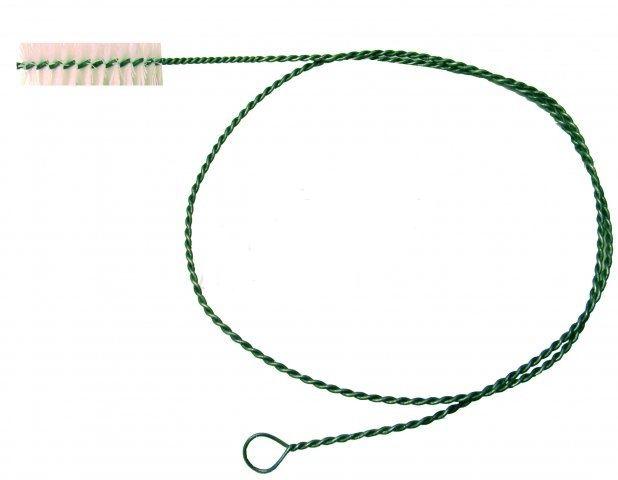 Kartáč na potrubí délka 200 cm, průměr hlavy 80 mm, délka hlavy 12 cm