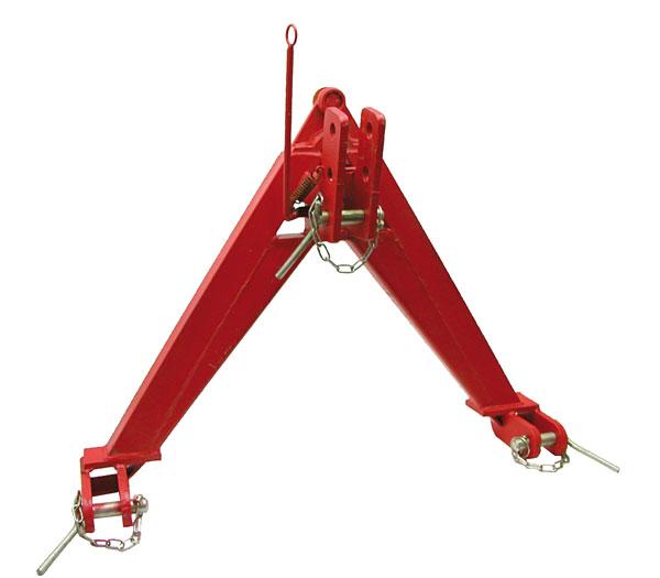 Trojúhelníkový mezirám kat. 2 zesílené provedení do 1600 kg