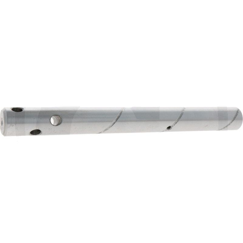 Mazací čep se 3 vývrty 42CrMo4 D=30 mm L=295 mm pro lžíce rypadel a čelní nakladače