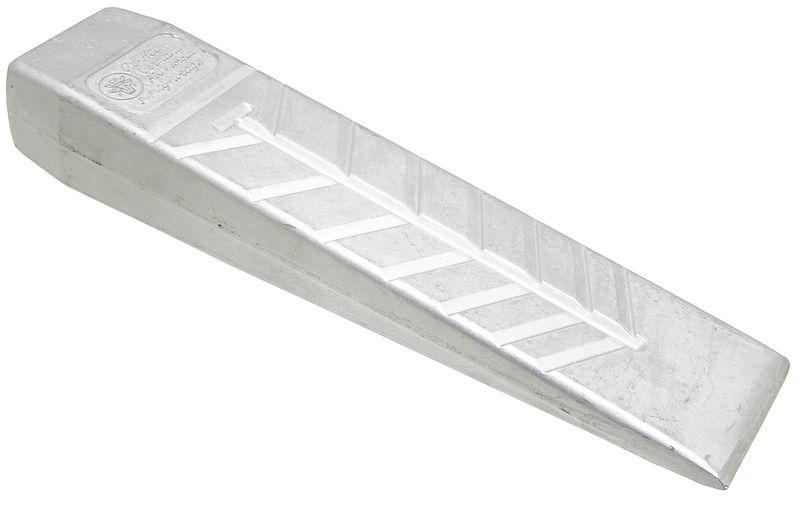 Masivní hliníkový štípací klín Ochsenkopf 265 x 55 mm pro středně tvrdé dřevo velikost II