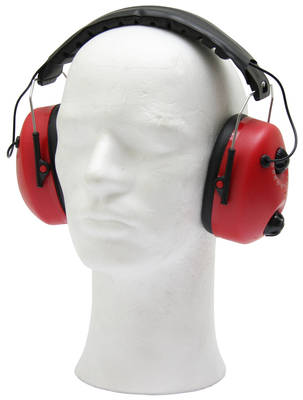 Ochranná sluchátka s rádiovým přijímačem
