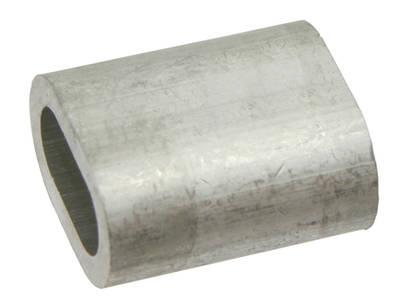 Lisovací svorka hliníková 14 mm pro lesnická lana