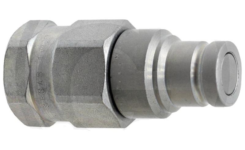 Hydraulická spojka, rychlospojka plochý samec Faster série FFH04 14GAS M