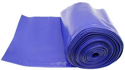 Ochranná plachta na žací lišty rotaček modrá šířka 470 mm