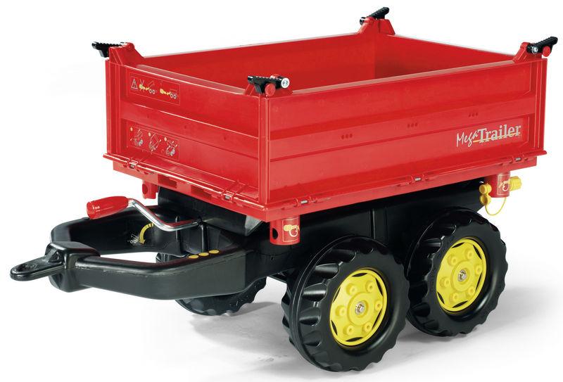 Rolly Toys - valník červený sklopný na 3 strany