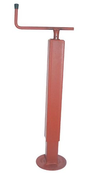 Opěrná noha pod návěs Simol nosnost 500 kg s vodorovnou klikou