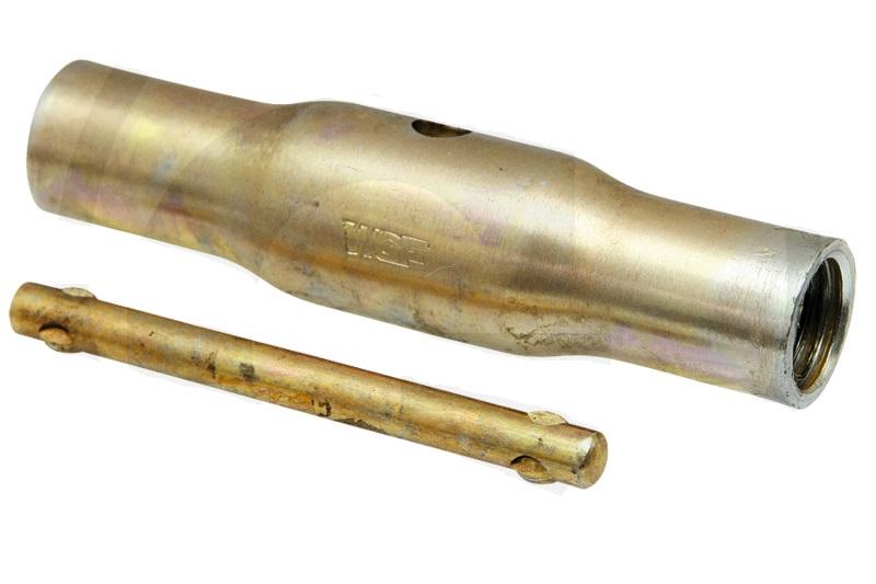Pouzdro k třetímu bodu délka dutiny 405 mm vnitřní závit M30 x 3,5