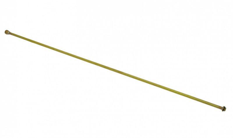 Mosazná prodlužovací trubka pro zahradní postřikovače Birchmeier 1 m