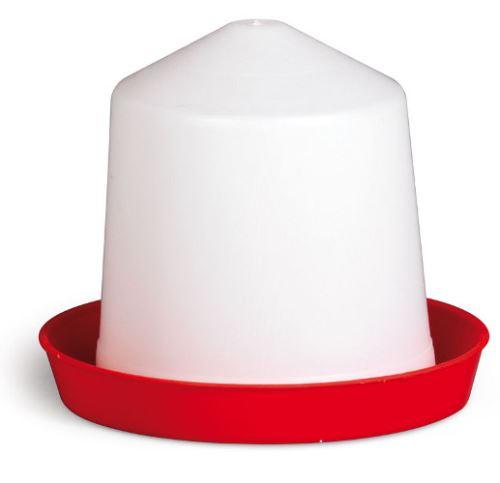 Napáječky kloboukové pro drůbež plastové 1,5, 3, 5 a 10 l