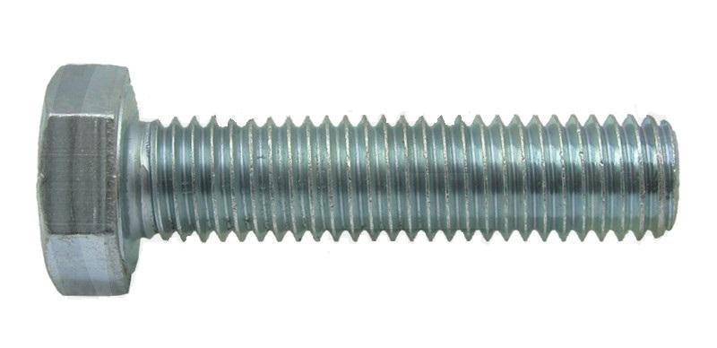 Šestihranný šroub M12 x 45 mm pro upevnění per shrnovače Deutz, Saphir, JF-Stoll, PZ