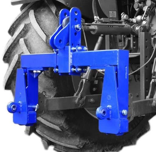 Tříbodová váha Agreto 6000 kg pro traktory kat. 2 s indikátorem hmotnosti Standard