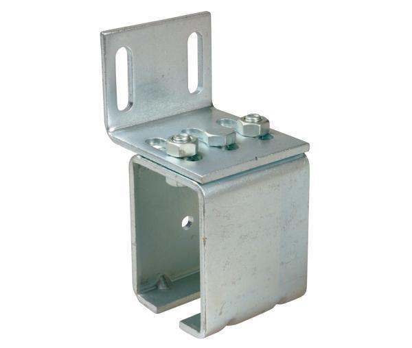 Boční držák kolejnice 339M na zeď střední pro vrata do 450 kg