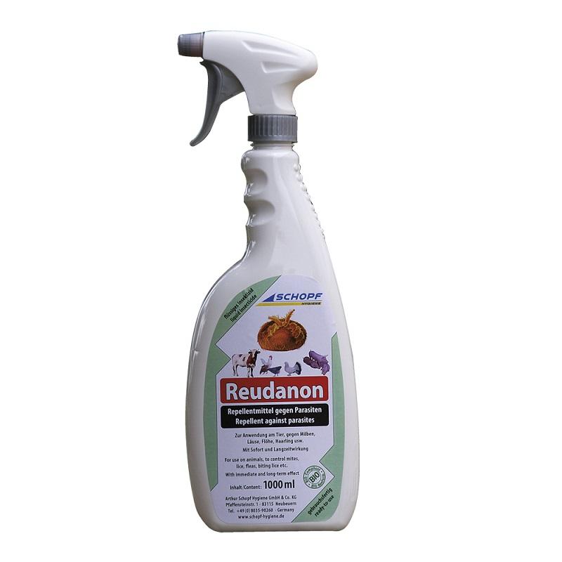 Reudanon BIO repelent proti hmyzu 10 l na hubení čmelíků, vší, blech, zákožek