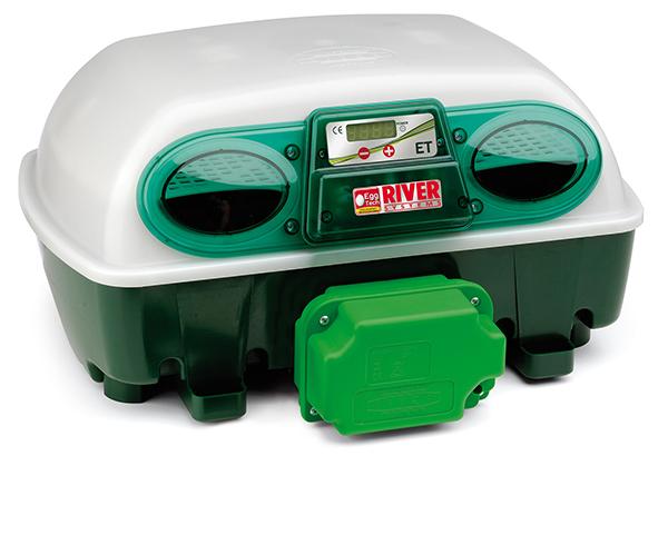 Automatická digitální líheň kuřat, drůbeže EGG TECH ET 24 s dolíhní a s motorem - použitá