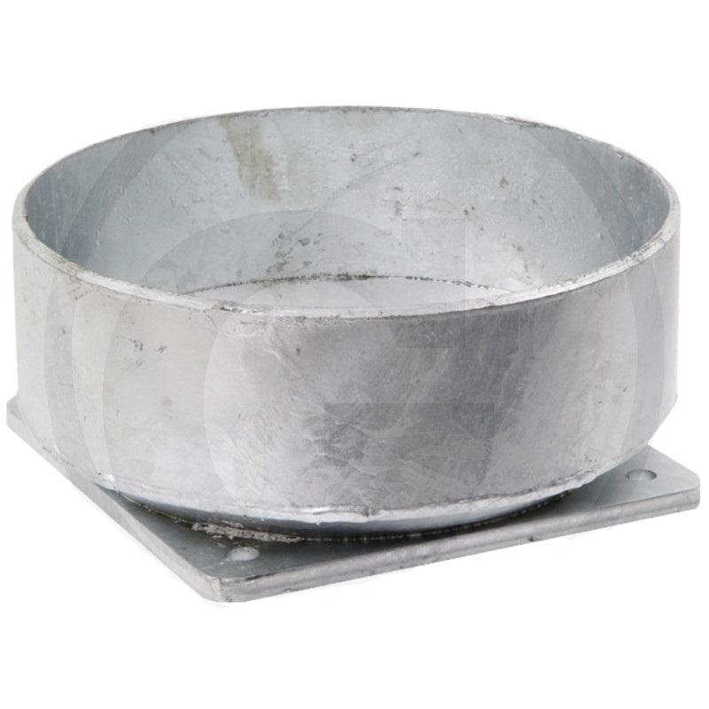 Přírubová podpěra 10″ na 8″ pro dokovací trychtýř pro fekální vozy