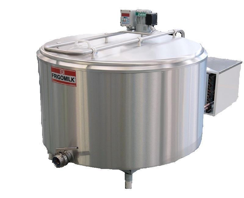 Chladící tank na mléko Frigomilk G4 na chlazení 2000 l mléka, 4 nádoje, 3 fáze