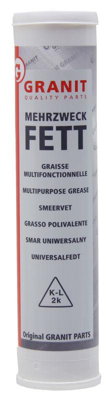 Víceúčelové mazivo lithiové šroubovací kartuše, patrona 500 g k mazání ložisek