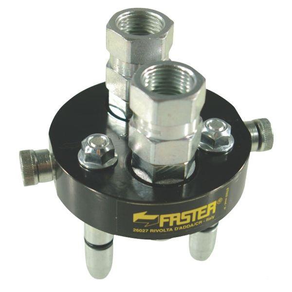 Multifaster 2P206-2-12G MC samec pákový rychloupínač  hydrauliky 2 rychlospojky