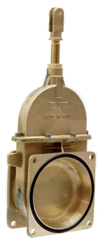 RIV 10 Perla šoupě 6″ pístové přírubové pro fekální vozy na tekutá hnojiva a kejdu