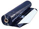 Silážní plachta 12 x 50 m, 150 mi., černobílá