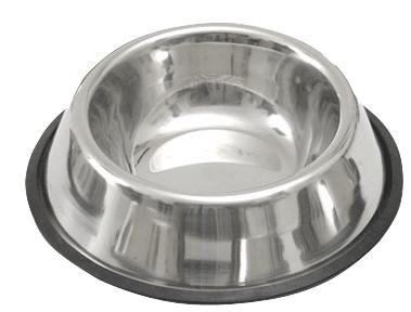 Nerezová miska na vodu a na krmivo pro psy 450 ml