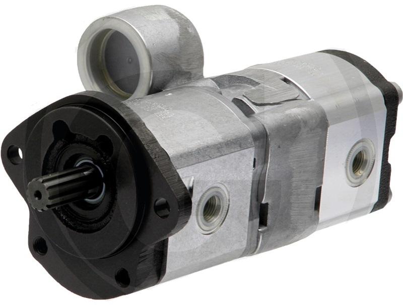 Dvojité hydraulické čerpadlo pro Massey Ferguson original Bosch/Rexroth