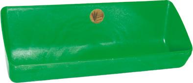 Plastový krmný žlab OK PLAST 77 cm 13 l pro jehňata, koryto pro prasata