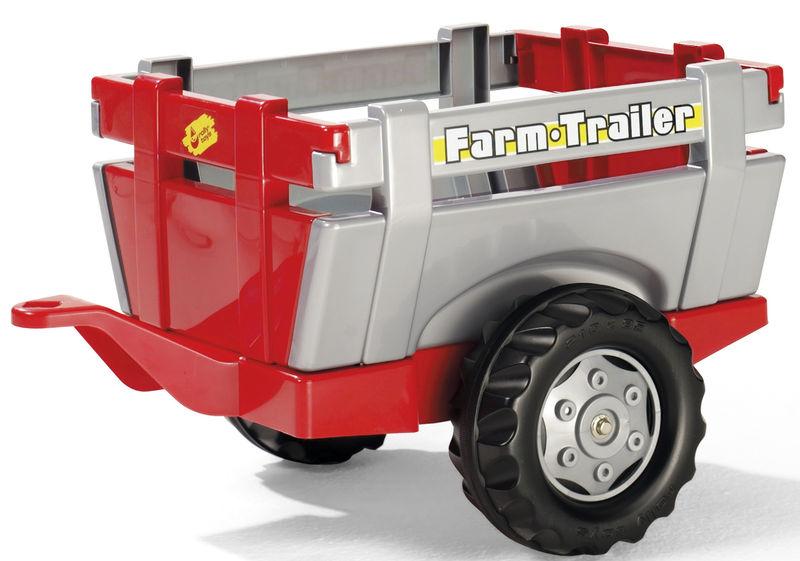 Rolly Toys – farmářský červenošedý přívěs