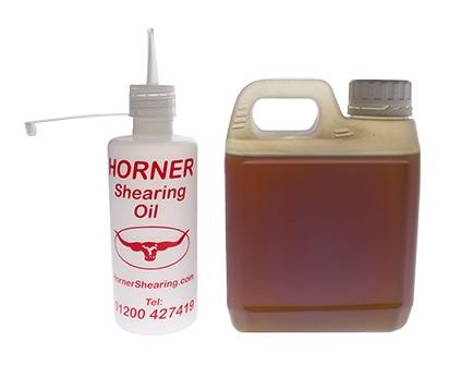Horner Shearing Oil olej na stříhací strojky pro ovce 1 l, SAE 30