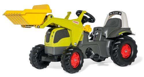Rolly Toys - šlapací traktor s čelním nakladačem Claas Elios 230 Lader rollyKid