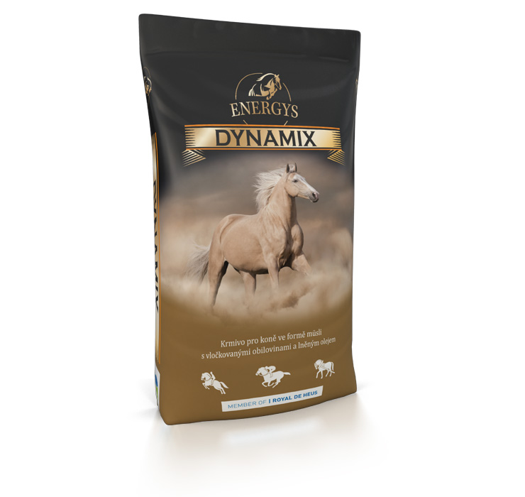 ENERGYS® Premium Dynamix 20 kg müsli pro koně, krmivo ve formě müsli