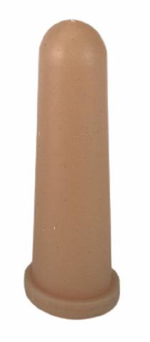 Dudlík pro telata přírodní LATEX s křížovým otvorem 100 mm