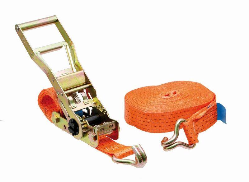 Kurta pás upínací popruh s ráčnou 4 m šířka 35 mm na zajištění nákladu přímý tah 750 daN