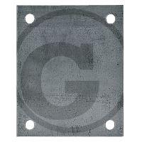 Upevňovací deska rovná pro opěrné kolo přívěsu Simol vhodná pro M214, M305LL, M232E