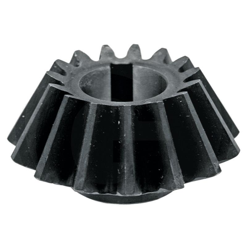 Kuželové ozubené kolo, pastorek 15 zubů na obraceč sena Niemeyer HR průměr 30 mm