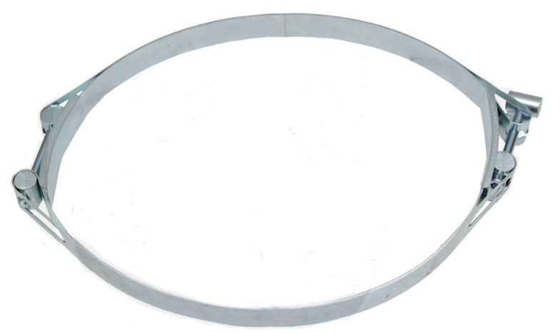 Spona na hadici na fekál dvojitá pro fekální hadice rozsah upínání 305 – 325 mm