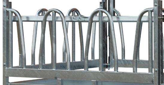 Náhradní panel s krmnou zábranou pro palisádový krmelec Cosnet RTF délka 1,83 m 3 hlavy