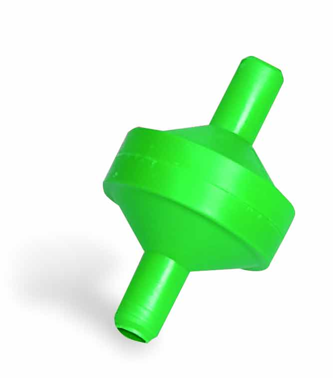 Filtr na hadičku 9 mm pro hadičkové napájecí systémy bez kohoutku nerozebiratelný
